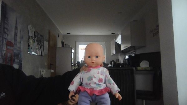720pのWebカメラで撮影した画像・Ideapad