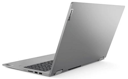 Lenovo IdeaPad Flex 550 15.6型(AMD Ryzen 5000シリーズ) 背面