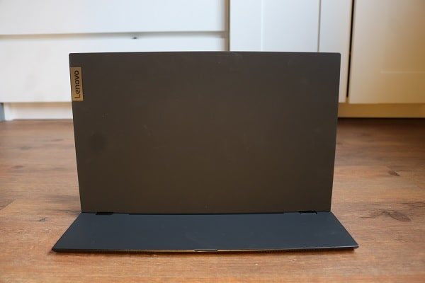 Lenovo ThinkVision M14の外観 背面