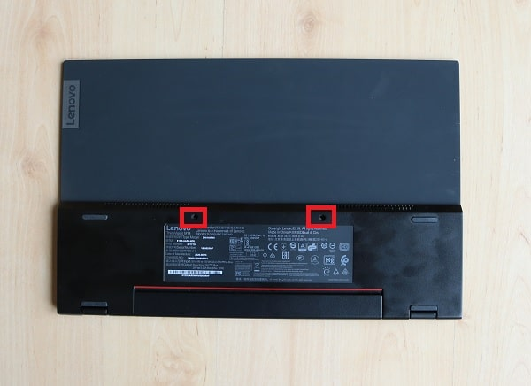 Lenovo ThinkVision M14 VESAマウント対応