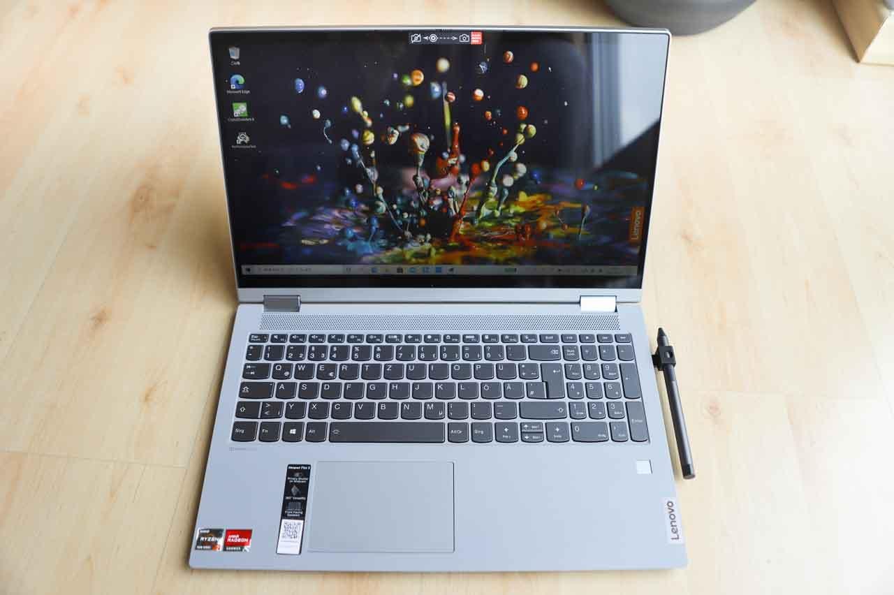 Lenovo IdeaPad Flex 550 15.6型(AMD Ryzen 5000シリーズ) のレビュー