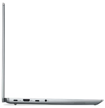 Lenovo IdeaPad Slim 560i Pro 開いた状態の左側面