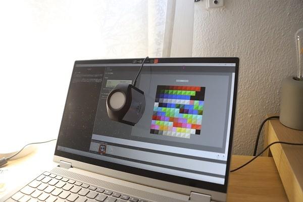 Lenovo IdeaPad Flex 550 AMDのディスプレイ測定