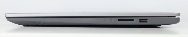 Lenovo IdeaPad Slim 360(17)右側面インターフェース