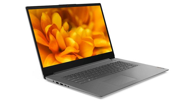 Lenovo IdeaPad Slim 360i(17) 右斜め前から