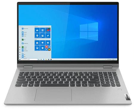 Lenovo IdeaPad Flex 550 15.6型(AMD Ryzen 5000シリーズ) 正面