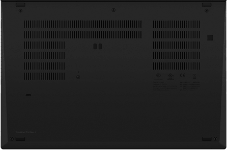 Lenovo ThinkPad T14 Gen 2の底面