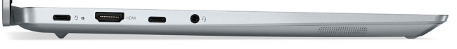 Lenovo IdeaPad Slim 560i Pro 左側面インターフェイス