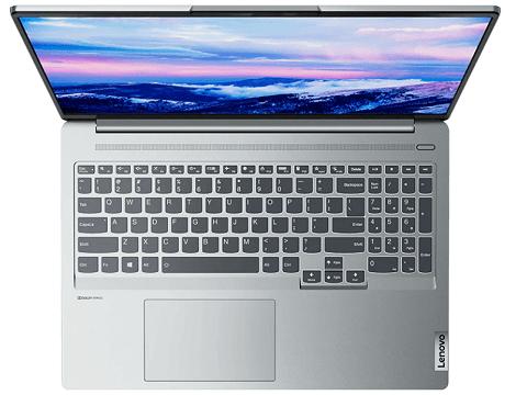 Lenovo IdeaPad Slim 560 Pro(16) 上から