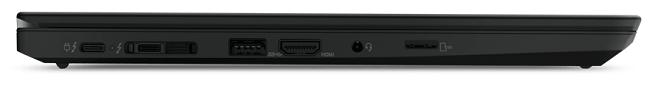 Lenovo ThinkPad T14 Gen 2の左側面インターフェイス