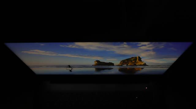 Lenovo IdeaPad slim 360i 17 視野角チェック 上から