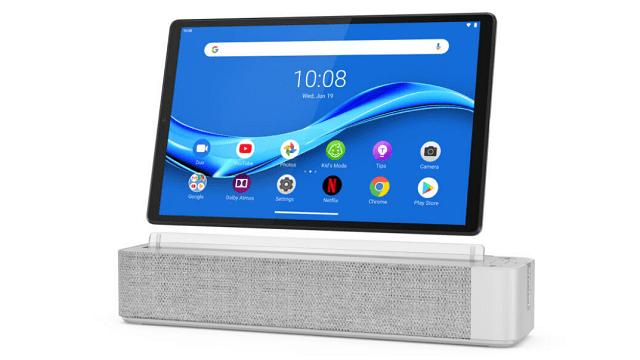 Smart Tab M10 FHD Plus with Alexa Built-inとSmart Dock 正面