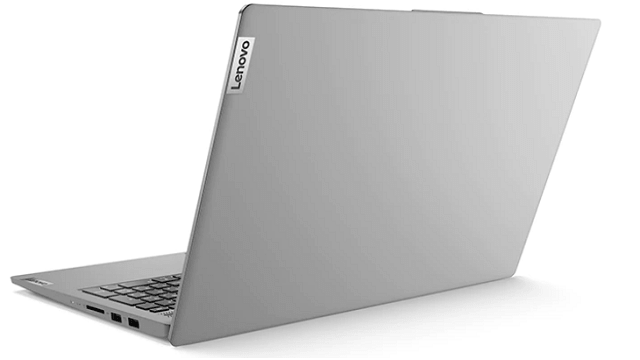 Lenovo IdeaPad Slim 550 15(AMD Ryzen 5000シリーズ)の外観 背面