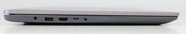 Lenovo IdeaPad slim 360i 17 左側面インターフェース
