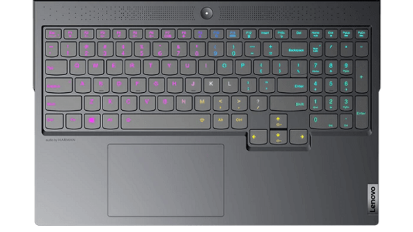 Lenovo Legion 760のキーボード