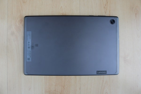 Lenovo tab M10 FHD Plus Gen 2の背面