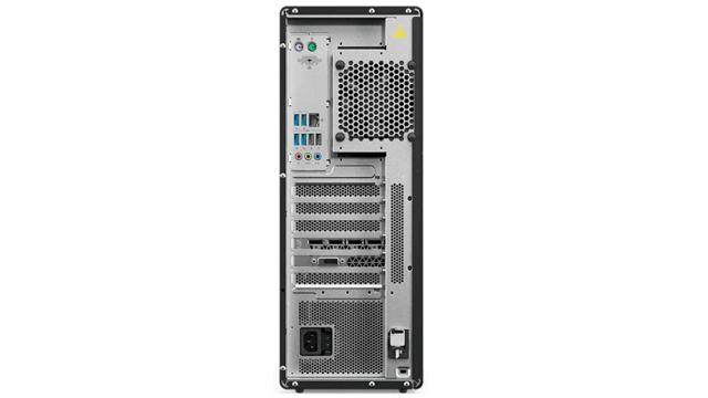 Lenovo ThinkStation P520 背面