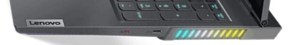 Lenovo Legion 760 右側面インターフェイス