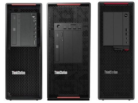 Lenovo ThinkStation P520とP920、P620の筐体比較