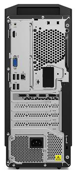 Lenovo IdeaCentre Gaming 550 AMDの背面インターフェイス