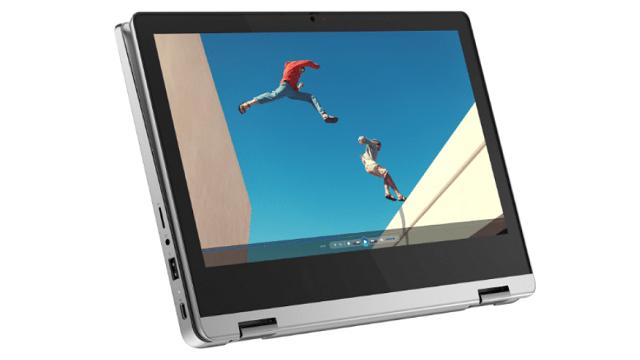 Lenovo Ideapad Flex 360 Chromebook タブレットモード
