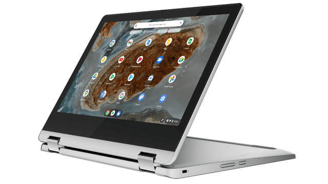 Lenovo Ideapad Flex 360 Chromebook スタンドモード