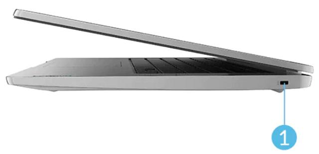 Lenovo IdeaPad Slim 360 Chromebook 右側面インターフェース
