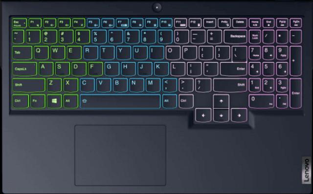 Lenovo Legion 560のキーボード LEDライティングON