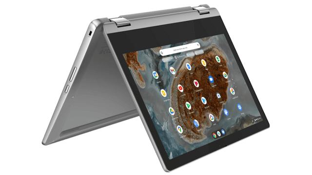 Lenovo Ideapad Flex 360 Chromebook テントモード