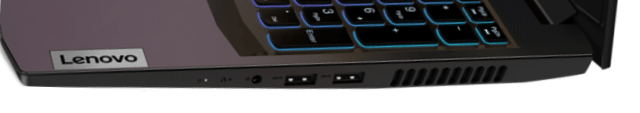 Lenovo IdeaPad Gaming 360 右側面インターフェース