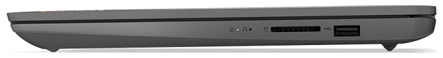 Lenovo IdeaPad Slim 360 14 AMD 閉じた状態の側面