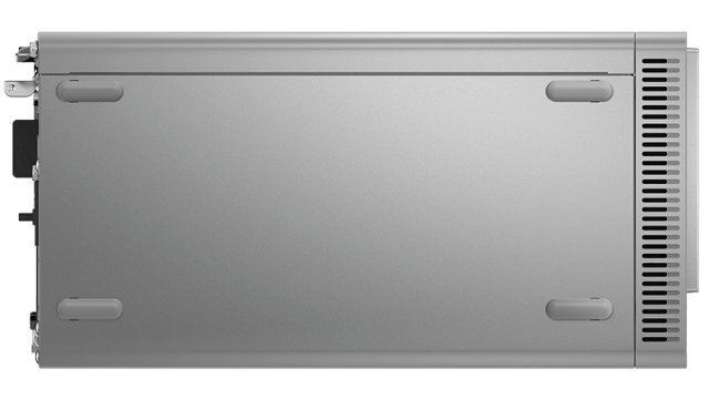 Lenovo IdeaCentre 560 AMDの筐体底面
