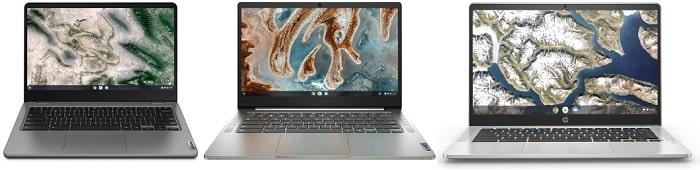 Lenovo 14e Chromebook Gen 2(AMD)と比較機種の筐体