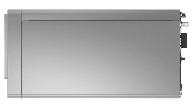 Lenovo IdeaCentre 560 AMDの筐体上部