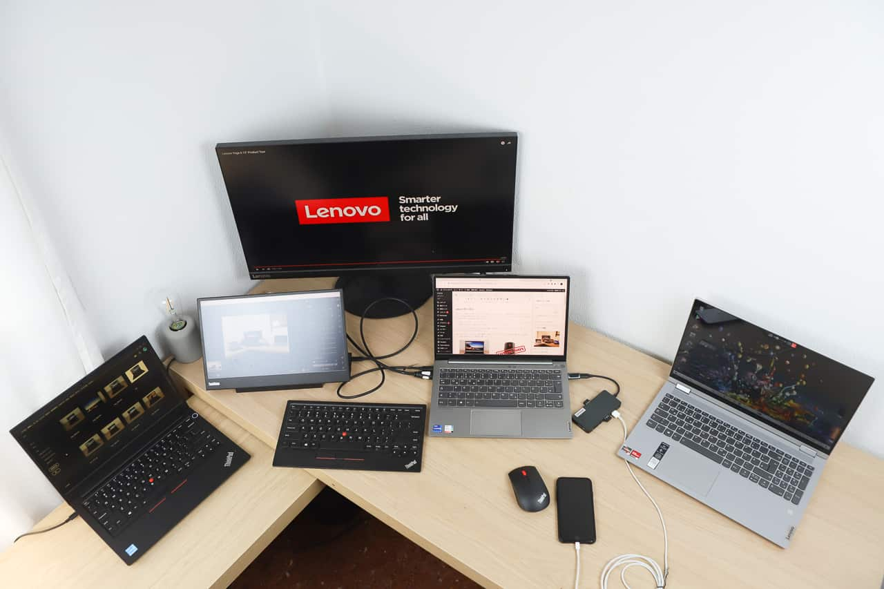 筆者購入Lenovo製品