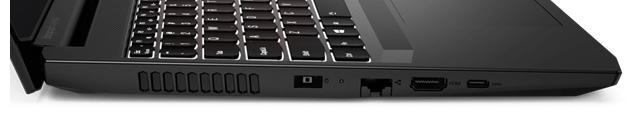 Lenovo IdeaPad Gaming 360 左側面インターフェース