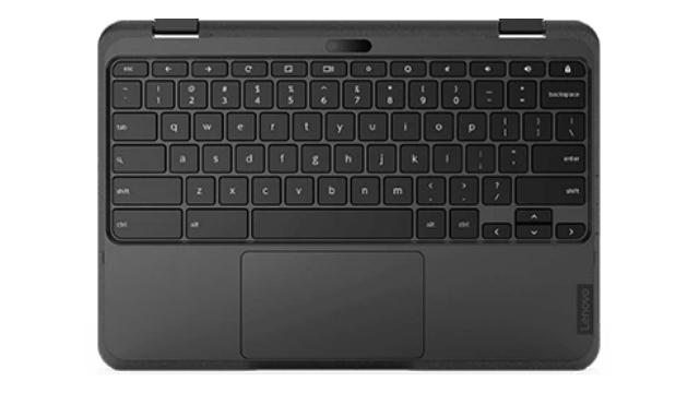 Lenovo 300e Chromebook Gen 3のキーボード