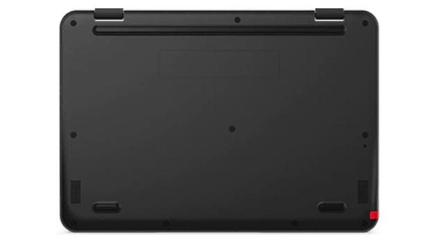 Lenovo 300e Chromebook Gen 3の底面