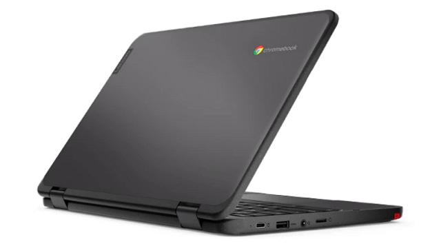Lenovo 300e Chromebook Gen 3 背面