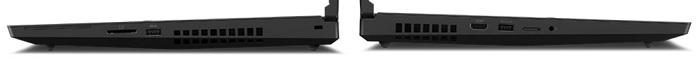 Lenovo ThinkPad P17 Gen 2の左右の排気口