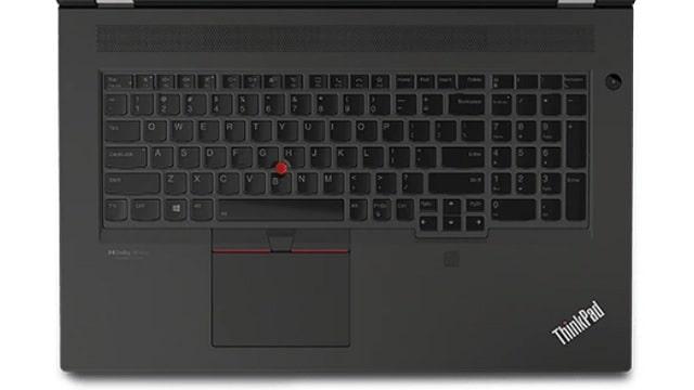 Lenovo ThinkPad P17 Gen 2のキーボード