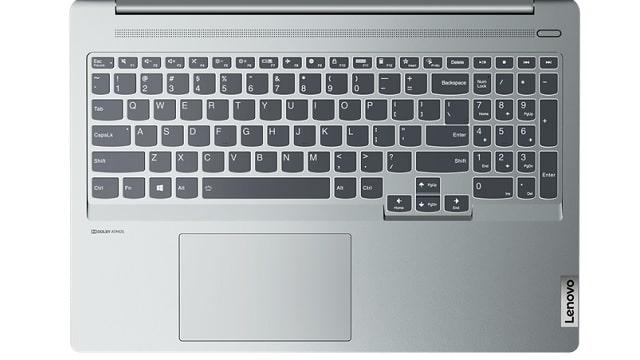 Lenovo IdeaPad Slim 560i Pro(16)のキーボード