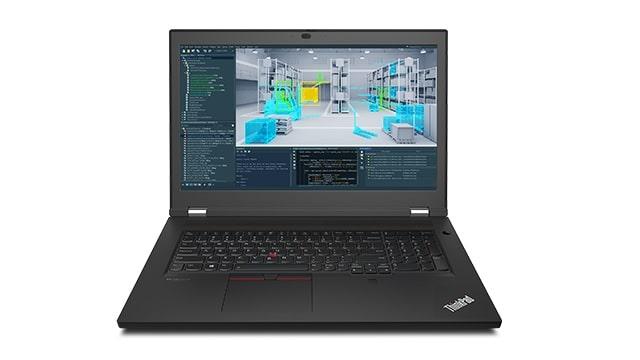 Lenovo ThinkPad P17 Gen 2 正面