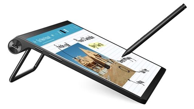 Lenovo Yoga Tab 13 ペンを使って資料作成