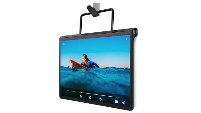 Lenovo Yoga Tab 13 壁に掛けて使用