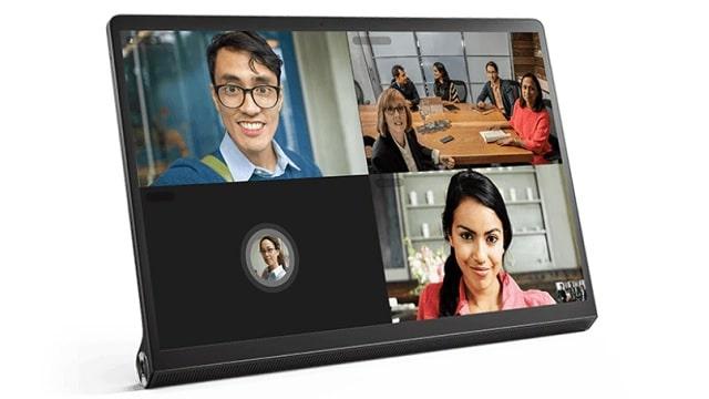 Lenovo Yoga Tab 13 左斜め前から