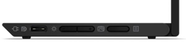ThinkVision M14t 右インターフェース