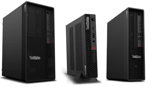 Lenovo Thinkstation P350 Towerと比較機種の筐体