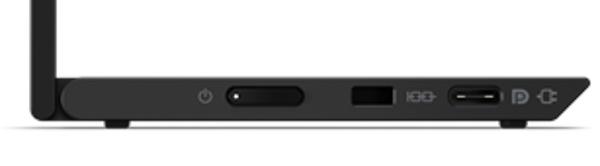ThinkVision M14t 左インターフェース