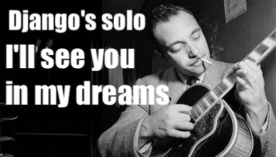 i'll see you in my dreams tab gypsy jazz